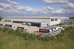 Poundworld's 215,000sq ft warehouse in Normanton, West Yorkshire