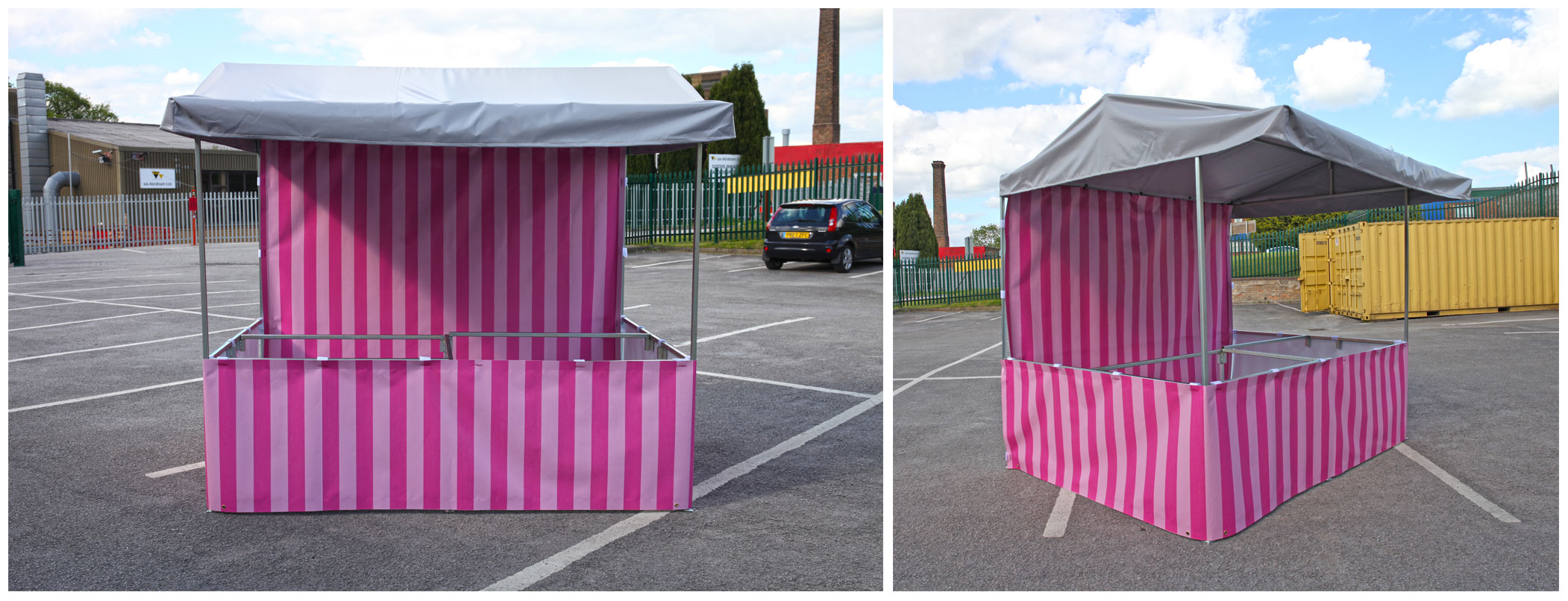 Candy Floss Market Stall & Street Food | Market Stall and Pop Up Gazebo Manufacturer and Supplier
