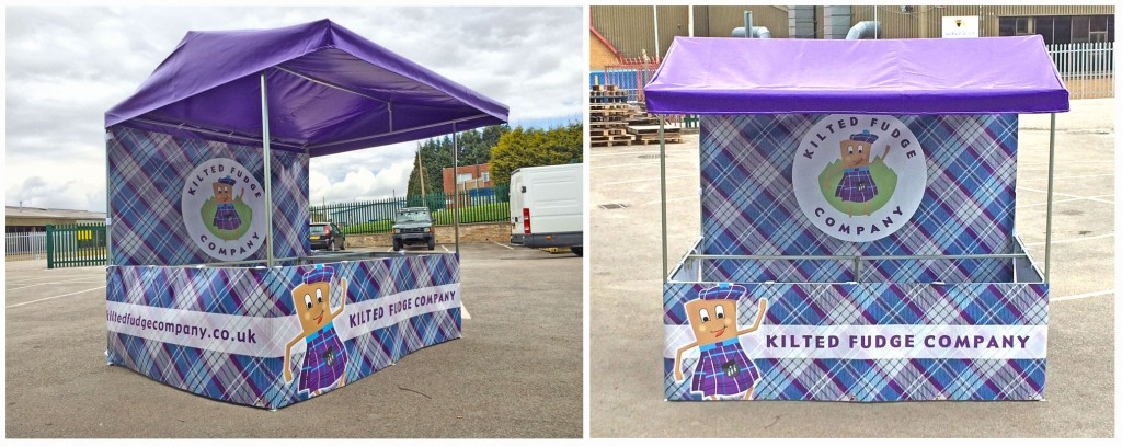 Wirksworth Elite Branded Market Stall