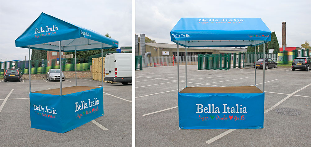 Bella Italia Restaurants Branded Market Stall