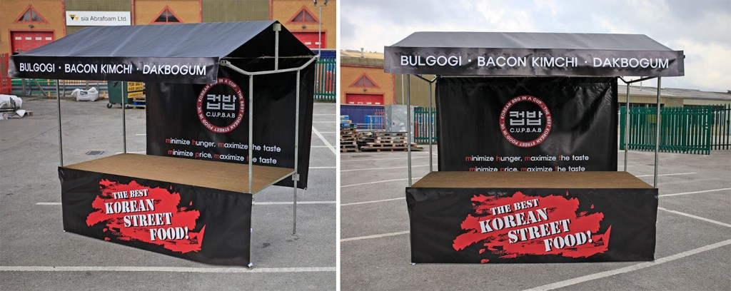 Custom Printed Market Stalls Market Stall And Pop Up