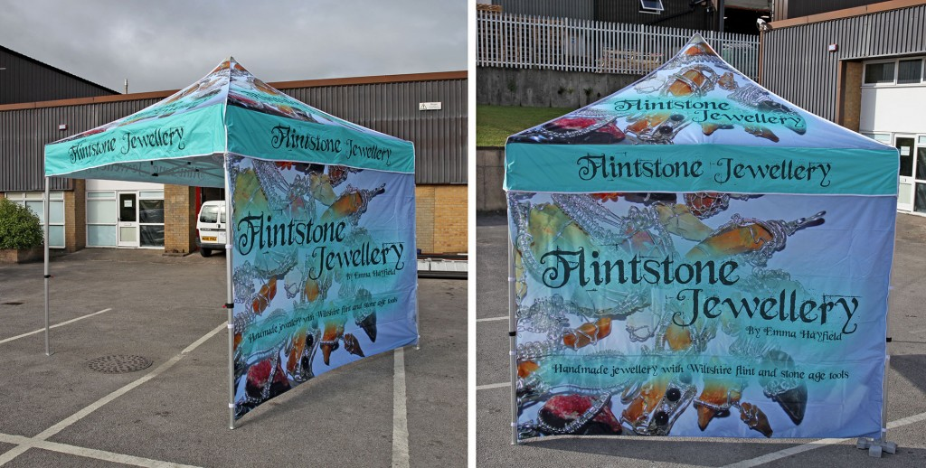 Printed and Branded Pop Up Gazebo