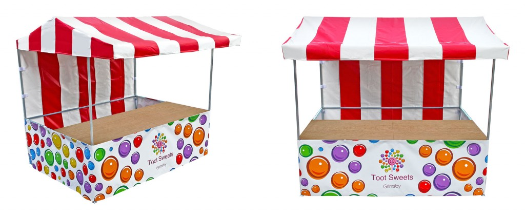 Toot Sweets Printed Market Stall  sc 1 st  Market-Stalls.co.uk & Custom Printed Market Stalls | Market Stall and Pop Up Gazebo ...