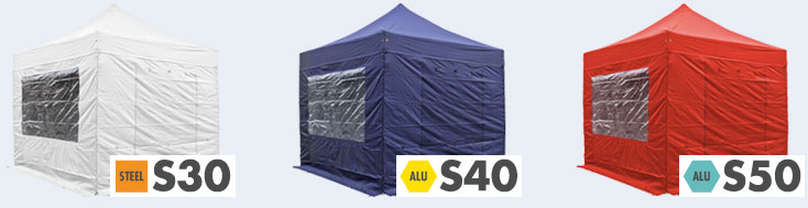 Pop Up Gazebo Range